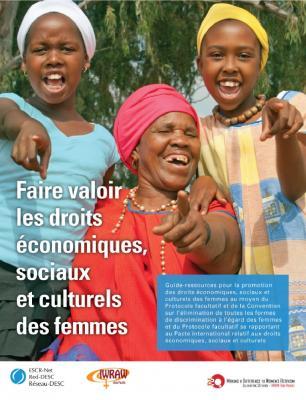 Faire valoir les droits économiques, sociaux et culturels des femmes